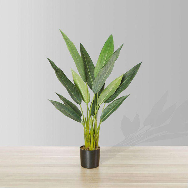 "MAIO Artificial Bird Of Paradise Potted Plant 31"" ArtiPlanto"
