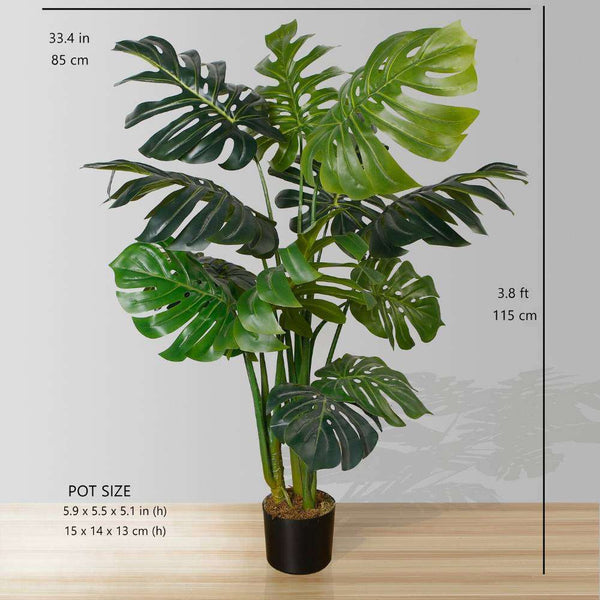 MONA ARTIFICIAL MONSTERA POTTED PLANT 45'' ArtiPlanto