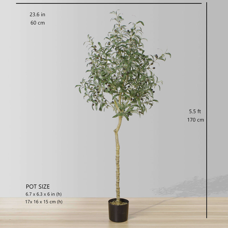 OLI ARTIFICIAL OLIVE TREE POTTED PLANT (Multiple Sizes) ArtiPlanto