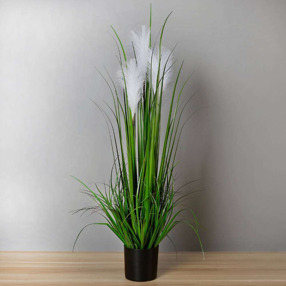 Ozie Artificial Reed Grass Potted Plant 35 Artiplanto