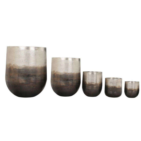 Petra - Brass Planter (Multiple Sizes) ArtiPlanto