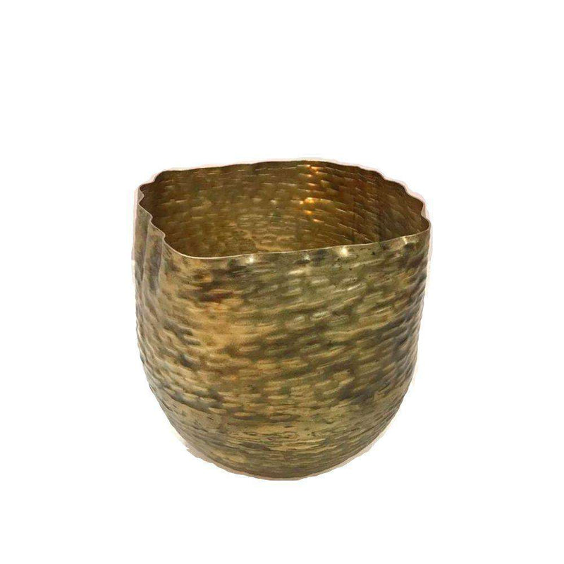 Poloma - Brass Basket Planter (Multiple Sizes) ArtiPlanto