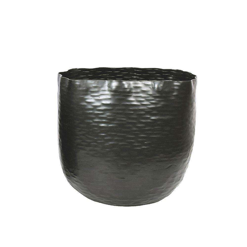 Ponche - Brass Black Basket Planter ArtiPlanto