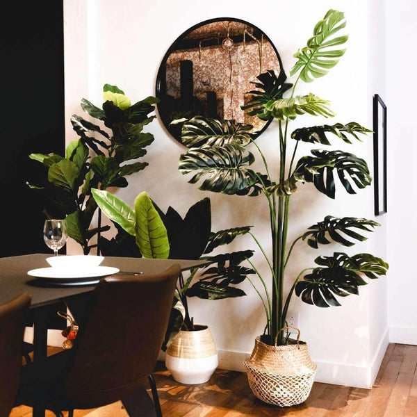 RITA Artificial Monstera Potted Plant (Multiple Sizes) Potted Artificial Plant ArtiPlanto