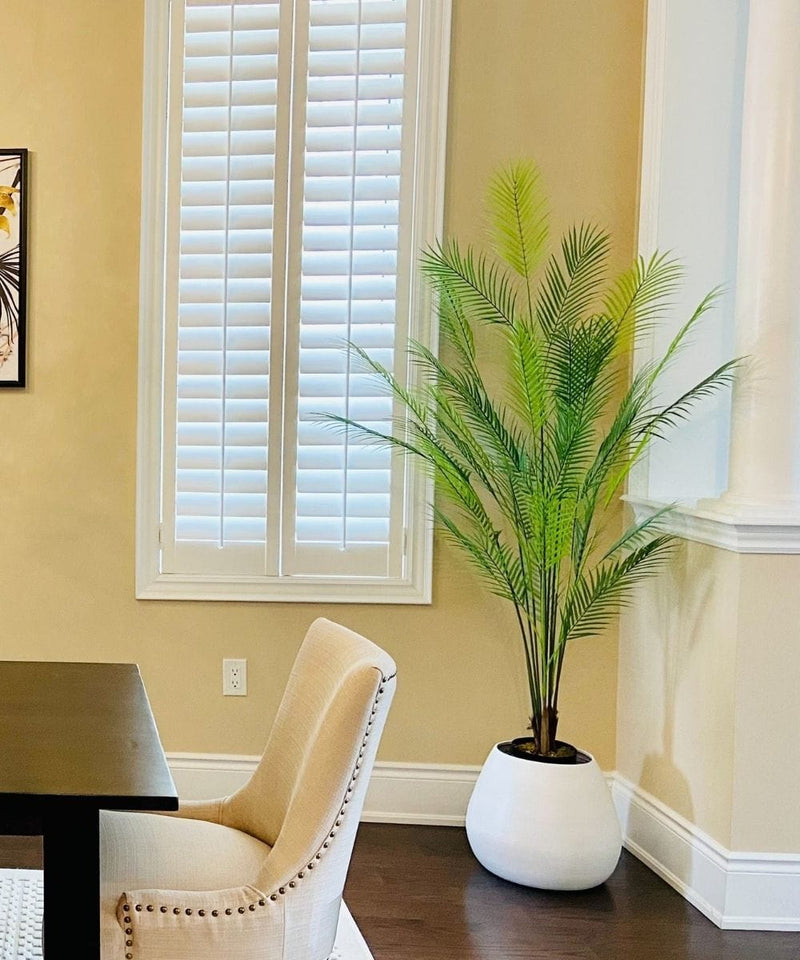 JULE Artificial Areca Palm Tree Potted Plant (Multiple Sizes)