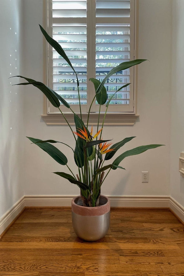 LUZA Artificial Bird Of Paradise Potted Plant (Multiple Sizes)