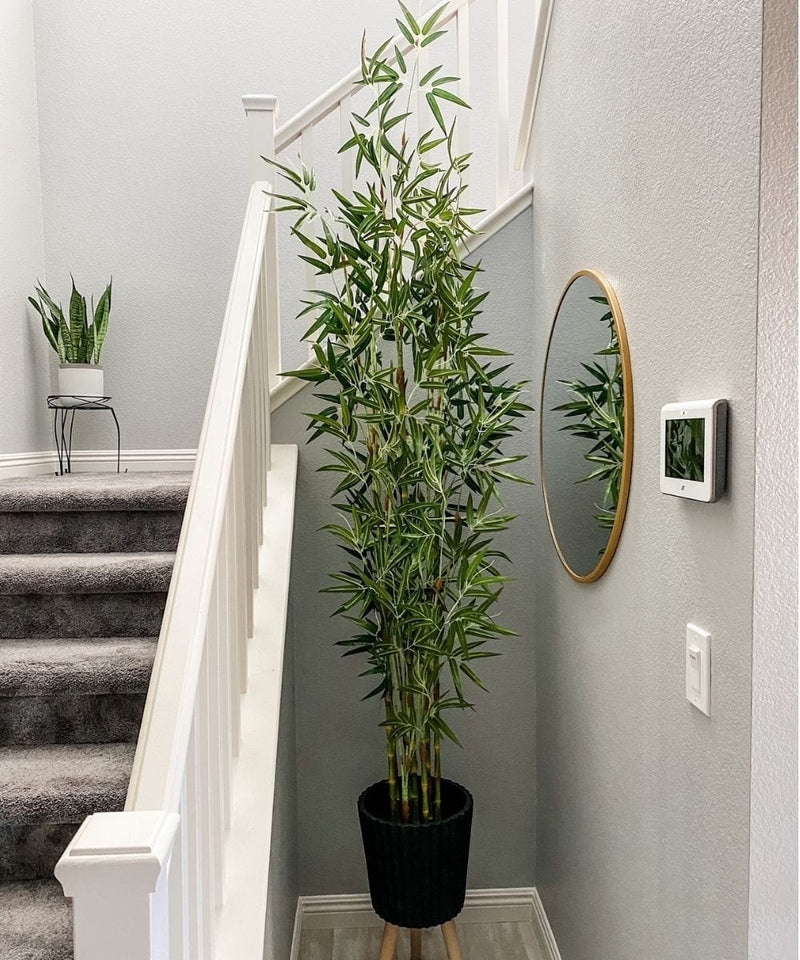 OSOS Artificial Korea Bamboo Potted Plant (Multiple Sizes)