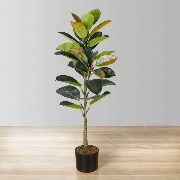 VERO Artificial Rubber Potted Plant 39'' ArtiPlanto