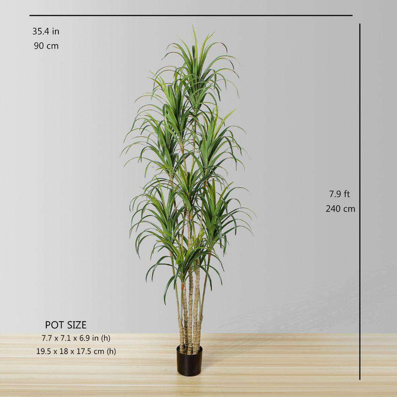 YULU ARTIFICIAL AGAVE POTTED PLANT (MULTIPLE SIZES) ArtiPlanto