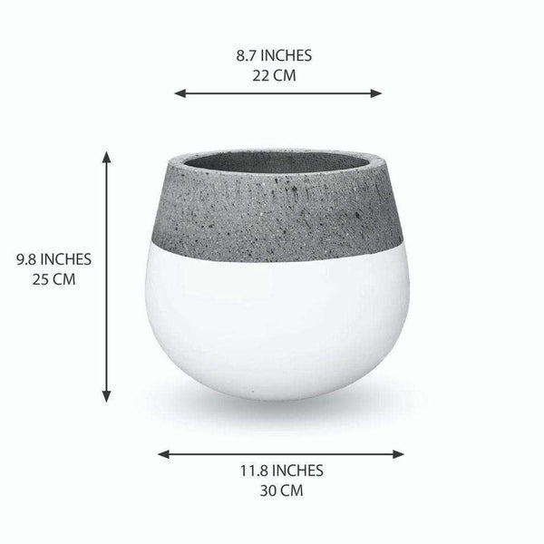 ZAMORA CEMENT PLANTER (Multiple Sizes) ArtiPlanto