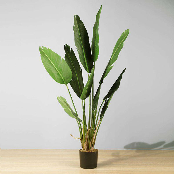 ZAPO Artificial Bird Of Paradise Potted Plant (Multiple Sizes) ArtiPlanto