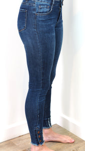 Queen Heart Denim Jeans