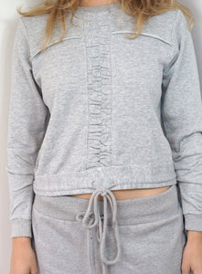 Grey Rouched Loungewear
