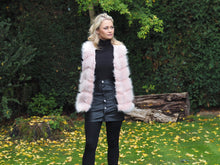 Load image into Gallery viewer, Rose Faux Fur Gilet