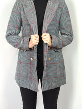 Load image into Gallery viewer, Glen Plaid Overcheck Coat
