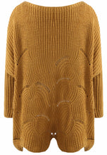 Load image into Gallery viewer, Cable Knit Ribbed Jumper
