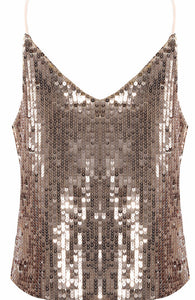 Gold Sequin Cami