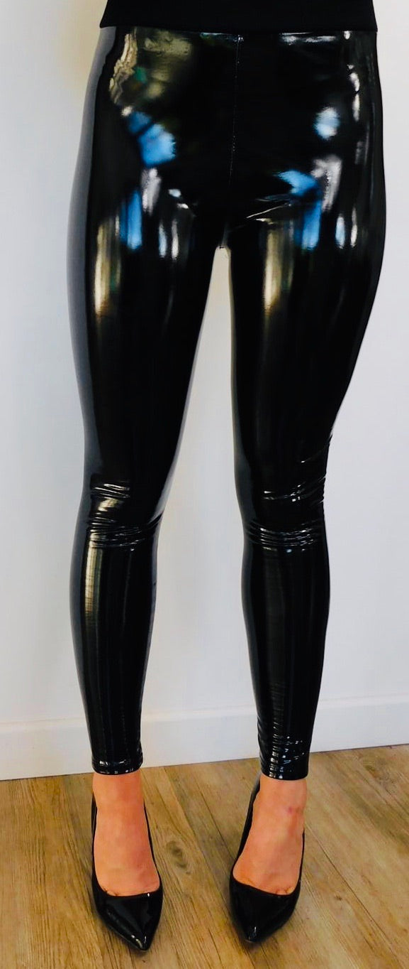 Shiny Vinyl Trousers
