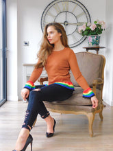 Load image into Gallery viewer, Rainbow Hemline Jumper