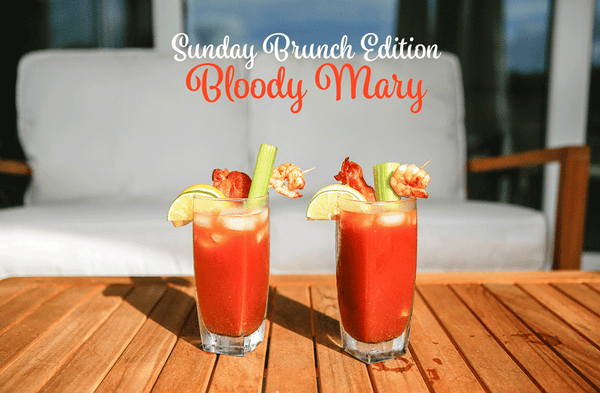 Sunday Brunch Bacon & Shrimp Bloody Mary
