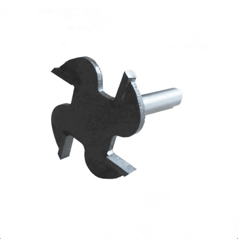 18mm Slot Cutter for Arcade T-moulding,2mm Cutting Length and 1/2-Inch Shank