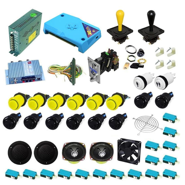 Ultimate 3000 in 1 Happ Kit - Black/Yellow