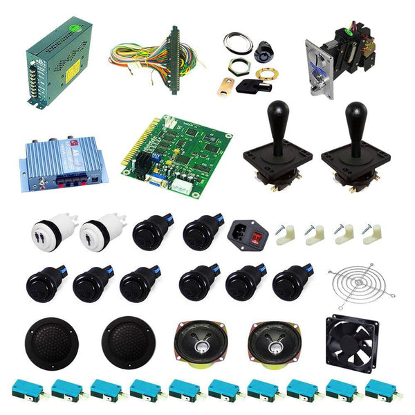 Ultimate 60 in 1 DIY Arcade Kit-Happ Joystick - DIY Arcade USA