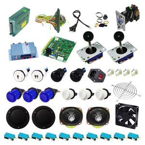 Ultimate 60 in 1 Kit - Blue/White - DIY Arcade USA