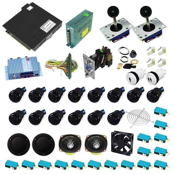 Ultimate 750 in 1 Kit - Black/Black - DIY Arcade USA