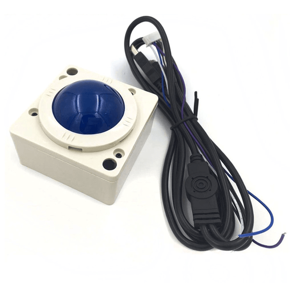 2 Inch White Ball Arcade Game Trackball Compatible With Jamma 60-in-1 - DIY Arcade USA