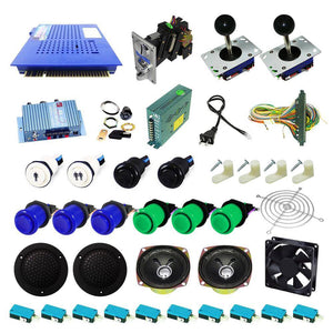 Ultimate 412 in 1 Kit - Blue/Green - DIY Arcade USA