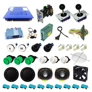 Ultimate 412 in 1 Kit - Green/White - DIY Arcade USA