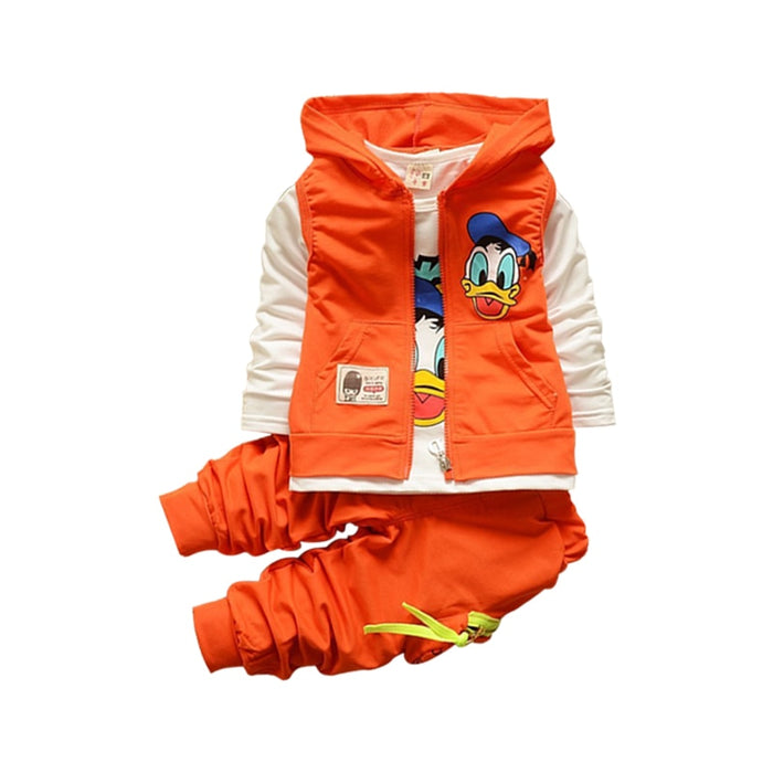 Toddler shirt vest pants