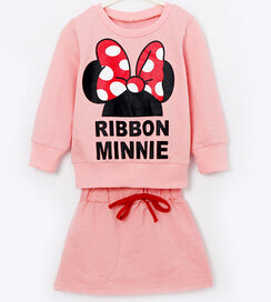 Minnie Skirt & Top Sets