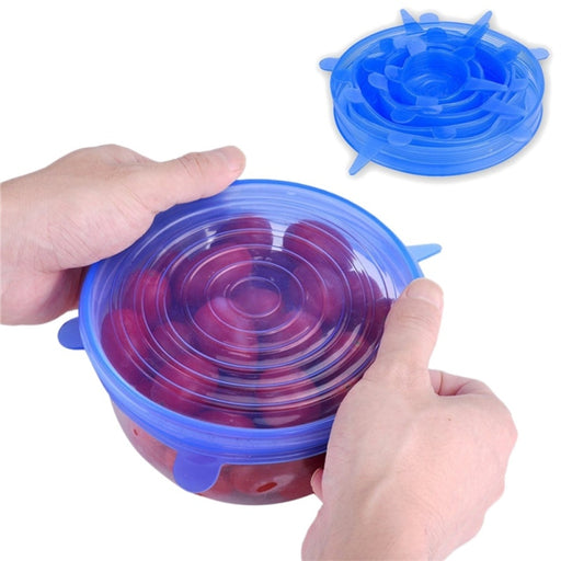 Reusable Silicone Stretch Bowl Seals