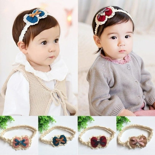 Girls Bow Hairband