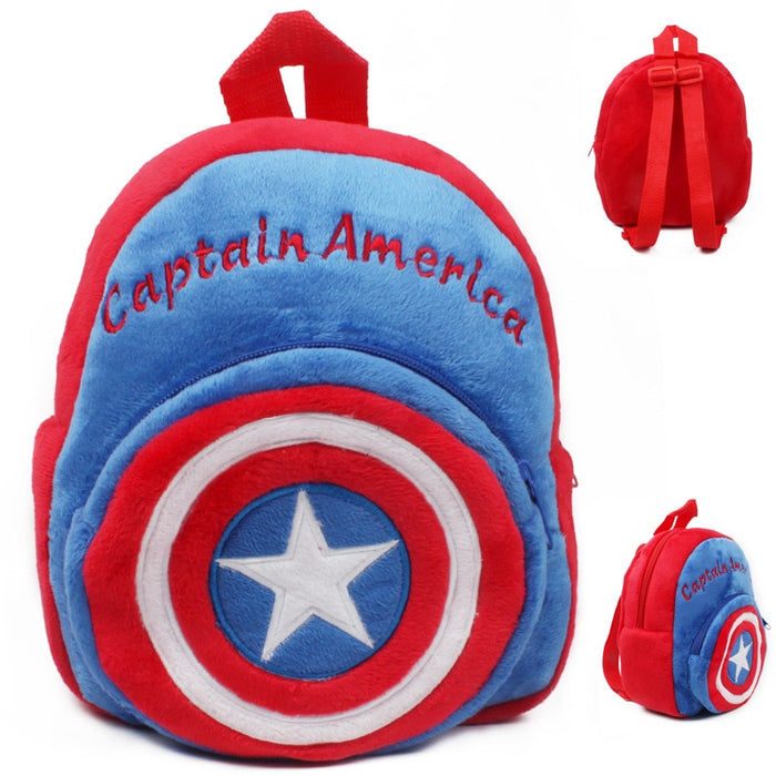 New cute Children's school bag cartoon mini plush backpack for kindergarten boys girls baby kids gift student lovely schoolbag