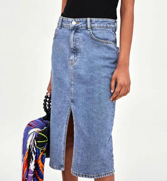 Women Denim Skirt