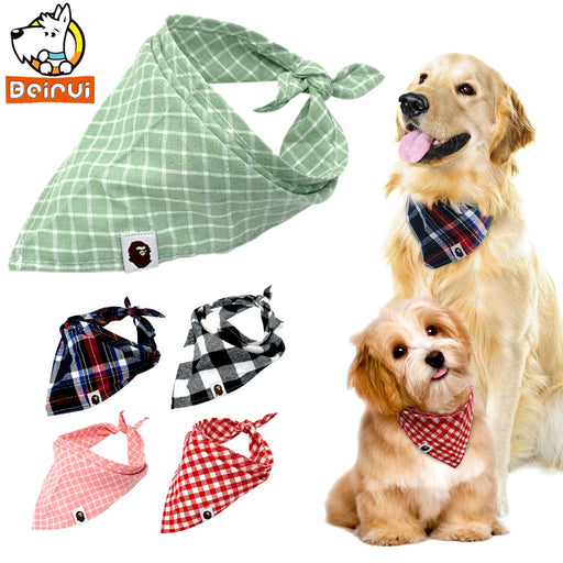 5pcs Pet Scarf Bow ties Bandana