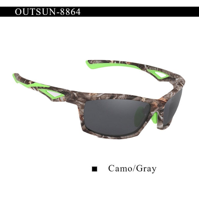 Men's Camo Sunglasses with Case