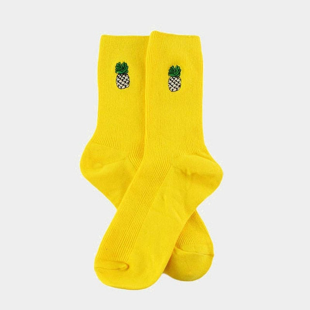 Cute Fruit Funny Socks