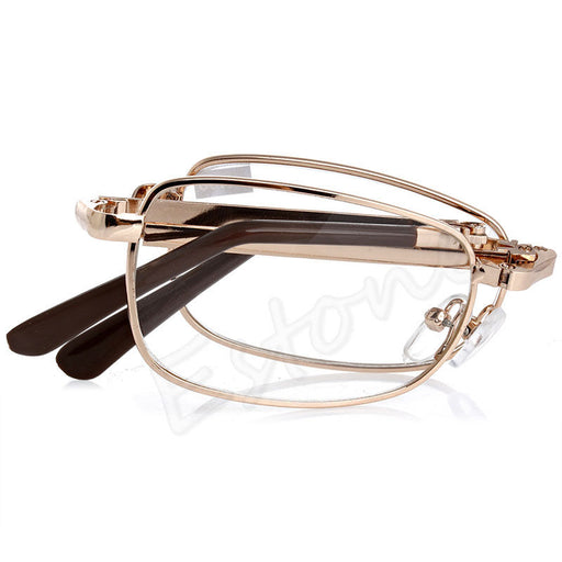Folding Metal Reading Glasses