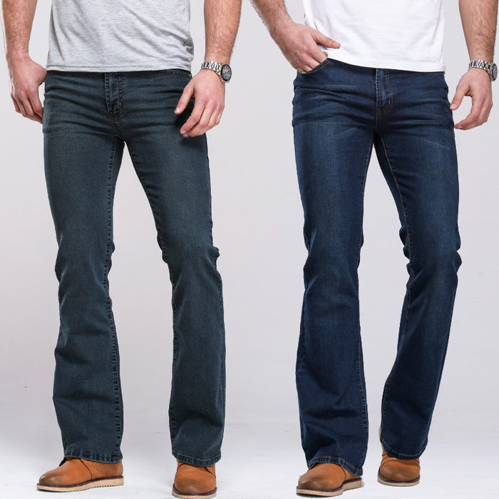 Mens Boot Cut Jeans