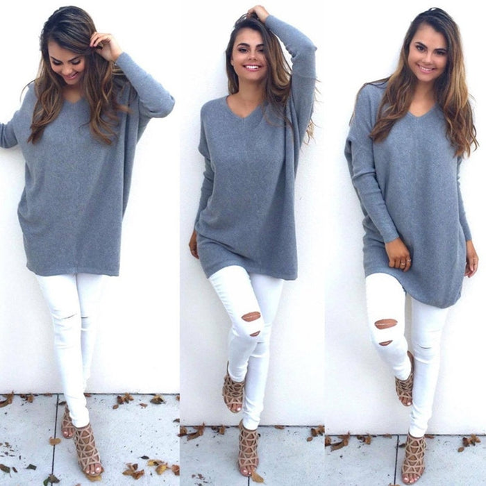 Women's Oversized Baggy Sweater