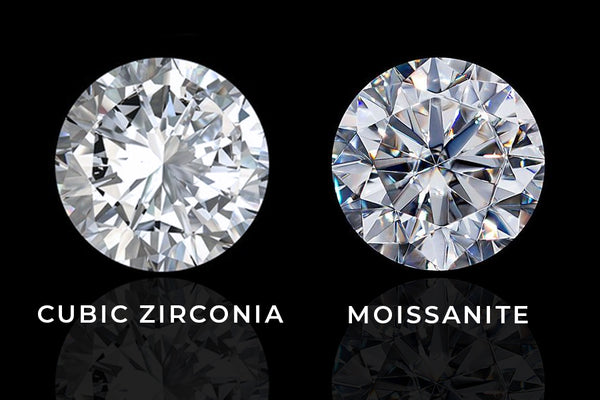 Moissanite vs Cubic Zirconia