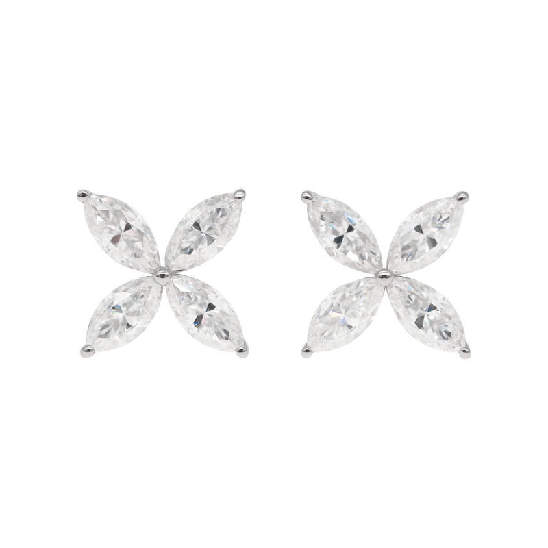 Florentine Hyde, Marquise Earrings