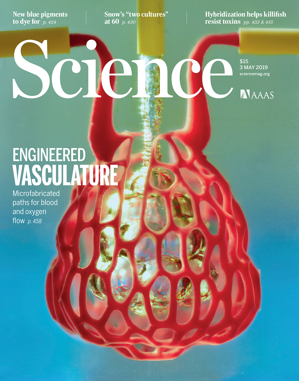 Volumetric's Light-Based Bioprinting  Platform Featured on the Cover of Science