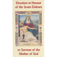 Devotion in Honour of the Seven Dolours