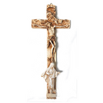 Crucifix With God the Father, Jesus, and Our Lady