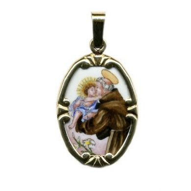 St. Anthony Ceramic Medal